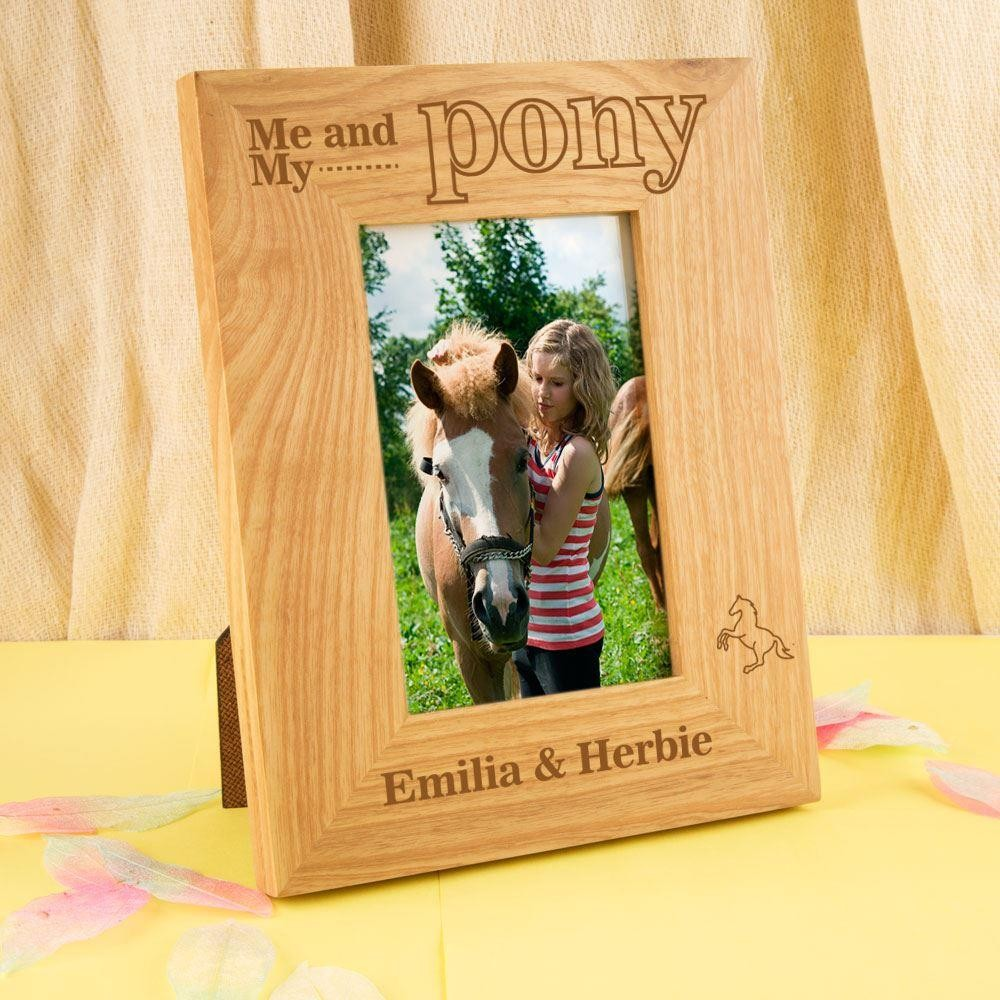 Customised Me and my Pony Oak Frame