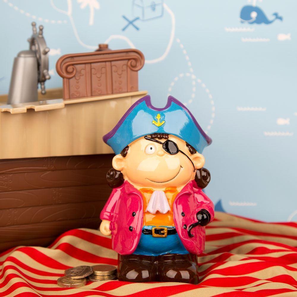Captain Elton The Pirate Money Box