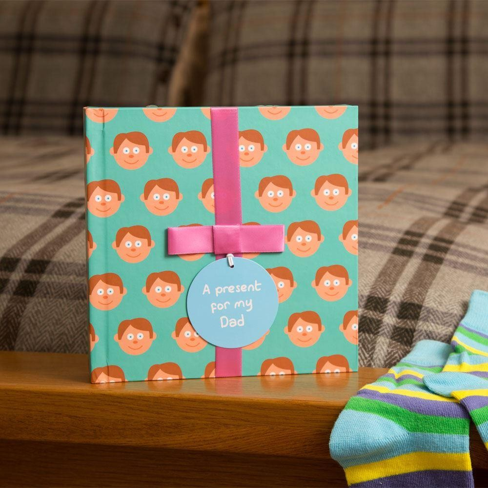 Book For Dad With Surprise Gift