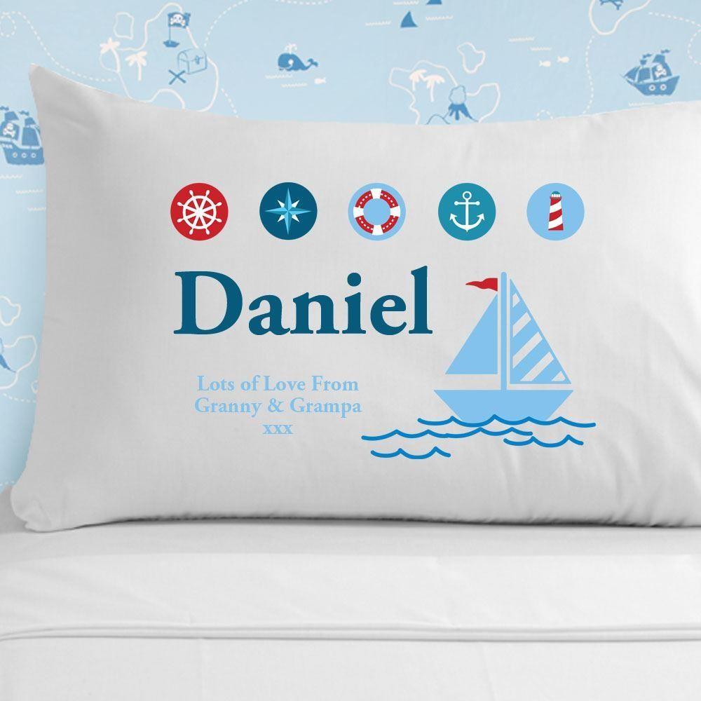 Sailing Pillowcase