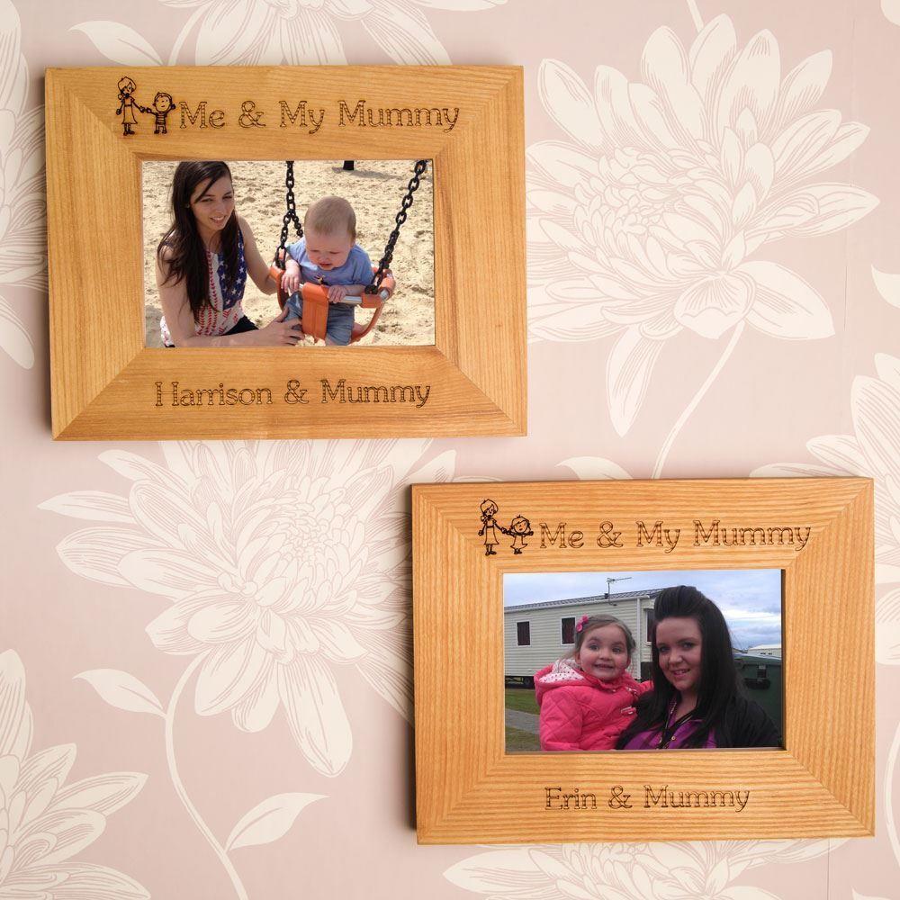 Personalised Me & My Mummy Frame