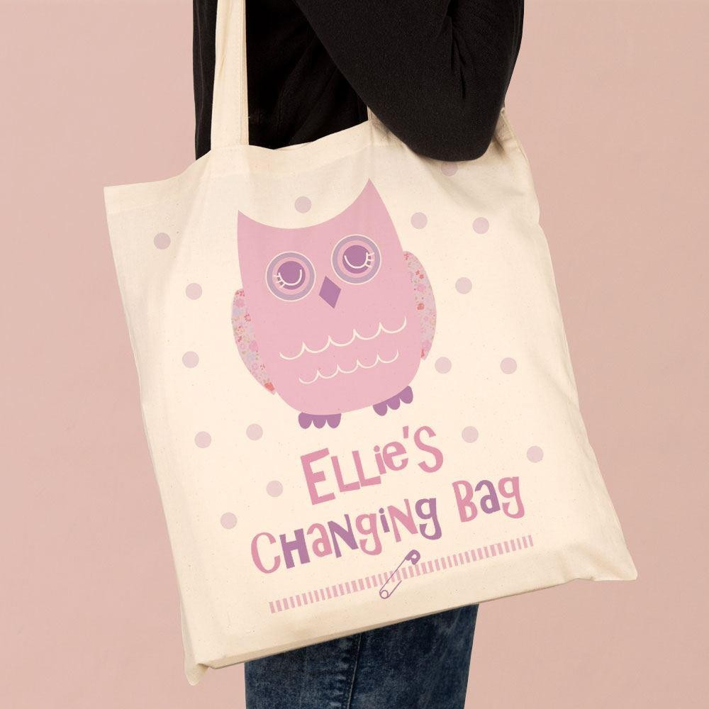 Personalised Girls Changing bag