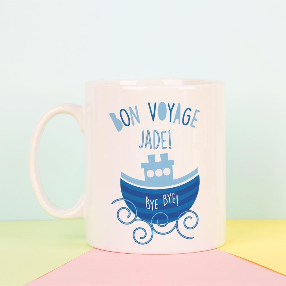 Bon Voyage Personalised Mug