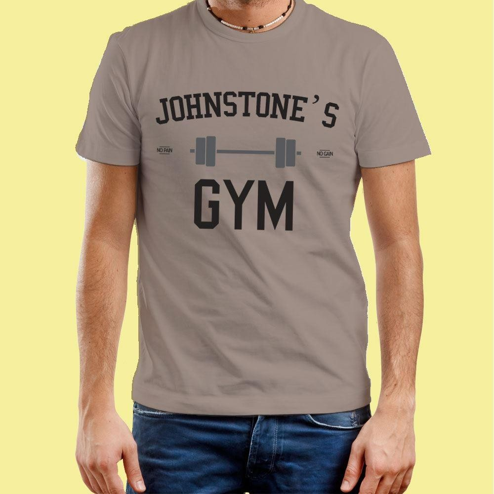 Personalised Mens Gym T-Shirt