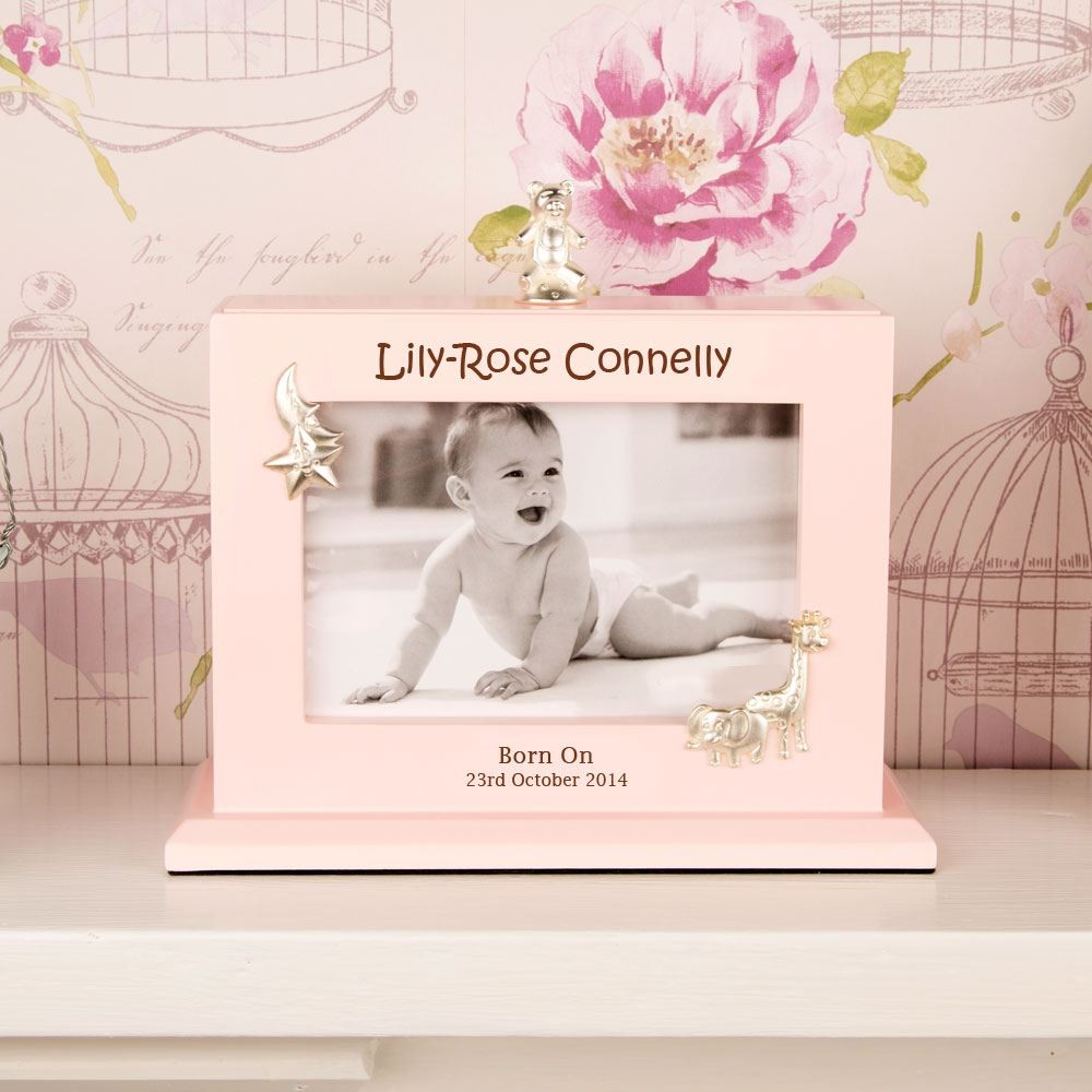 Bespoke Baby Girl Photo Album