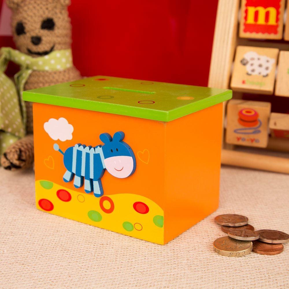 Cute Zebra Money Box For Children Forever Bespoke