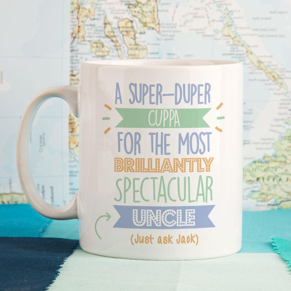 Personalised Best Uncle...Just Ask Mug