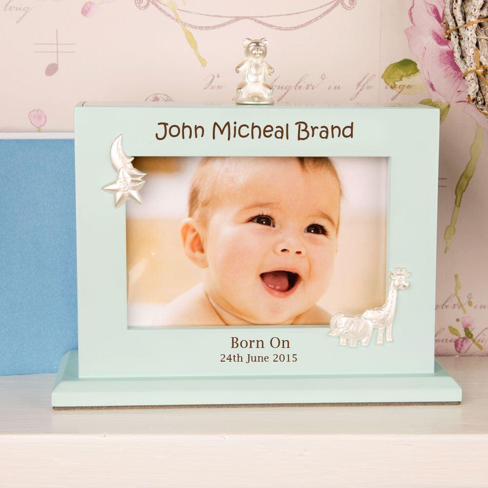 Bespoke Baby Boy Photo Album