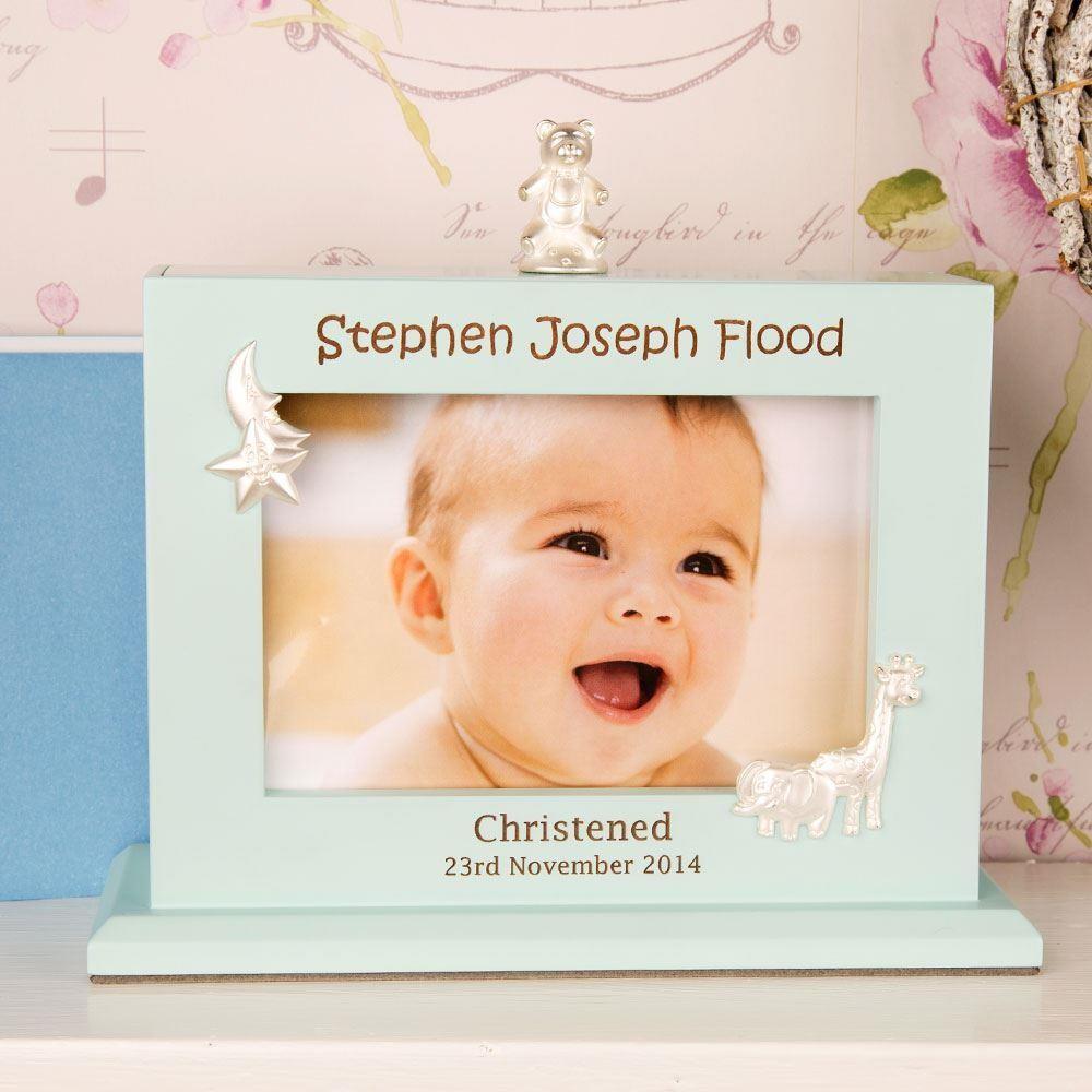 Laser Engraved Baby Boy Flip Album