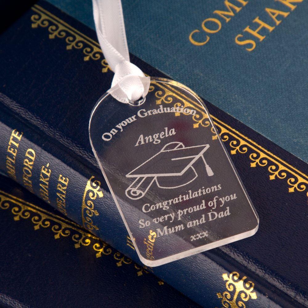 Graduation Acrylic Gift Tag