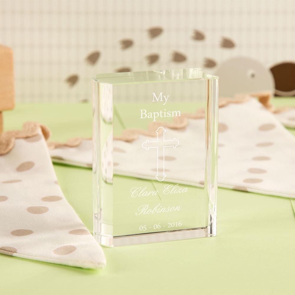 Cross Miniature Glass Book