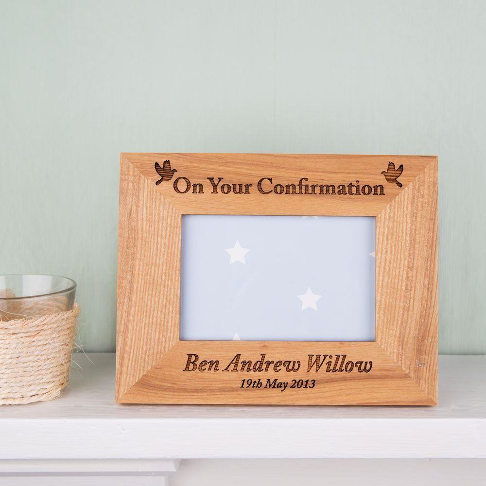 Bespoke Confirmation Oak Frame