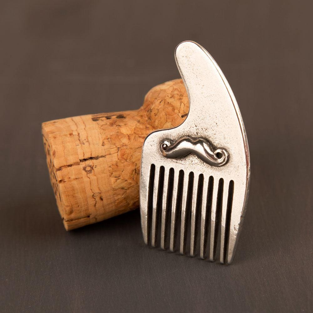 Miniature Moustache Beard Comb