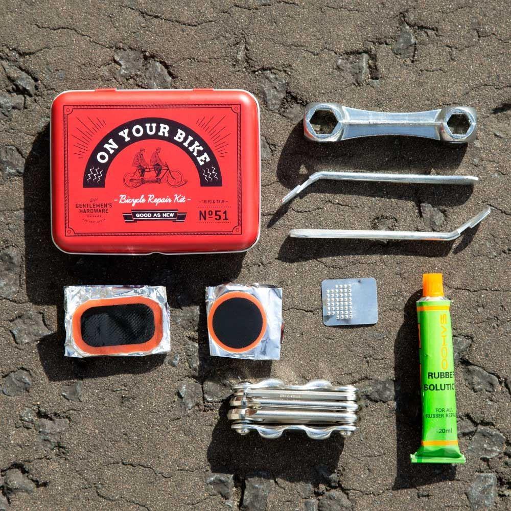 Bicycle Tool & Puncture Repair Kit