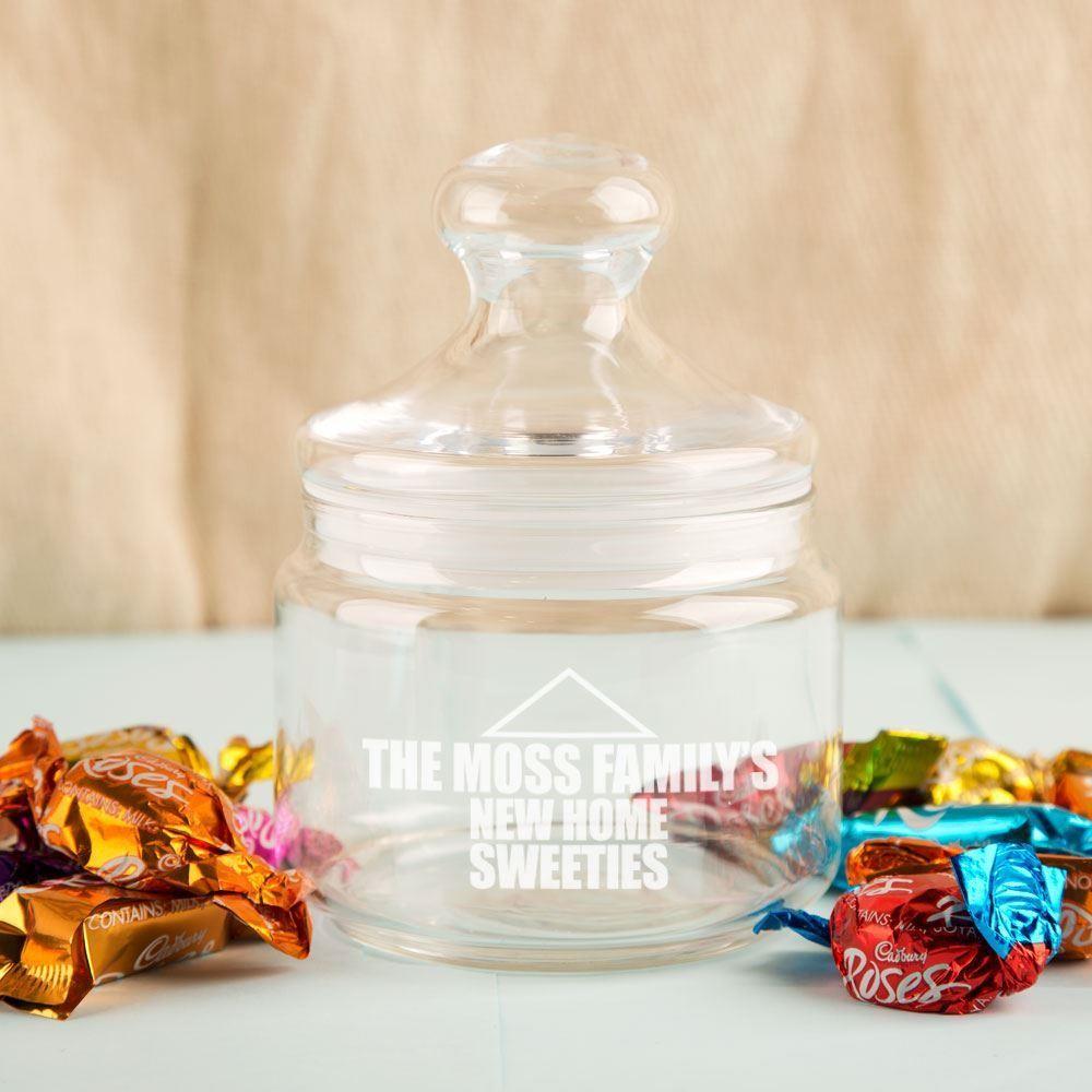 Personalised New Home Sweetie Jar