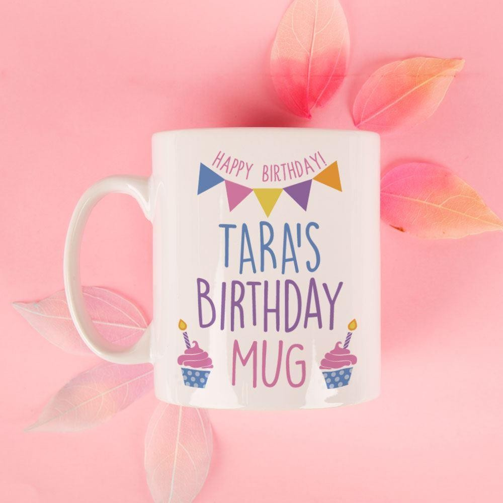 Customised Birthday Mug for Her