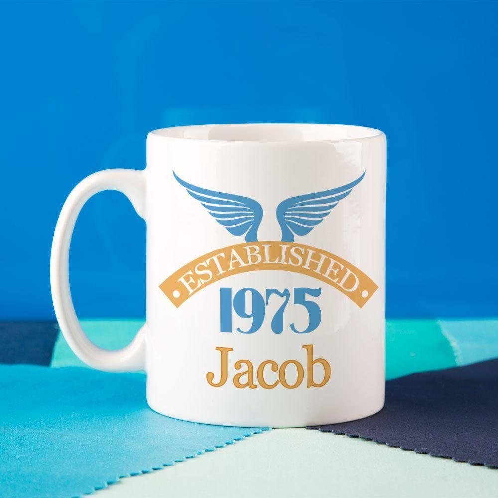 40th Birthday Established Since Mug For Him