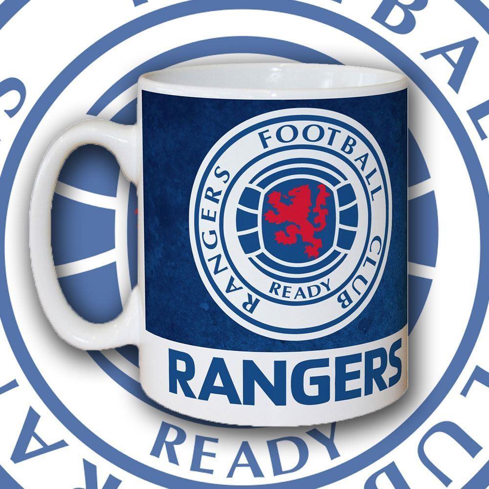Personalised Rangers Fc Emblem Mug Forever Bespoke