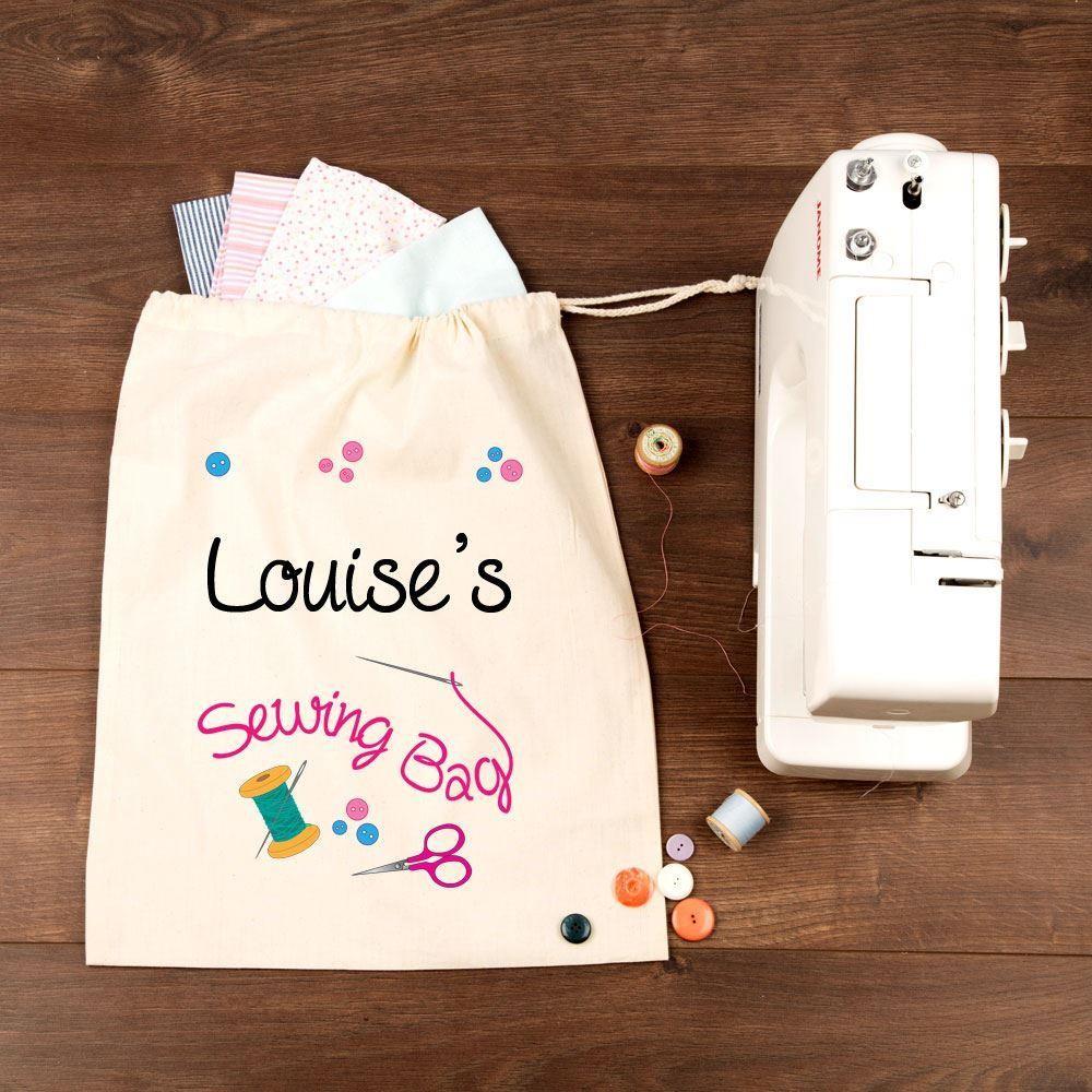 Personalised Sewing Bag
