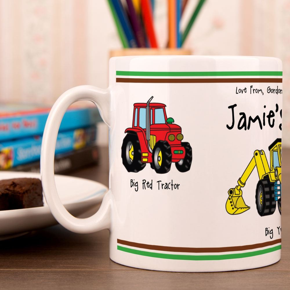 Construction Theme Mug