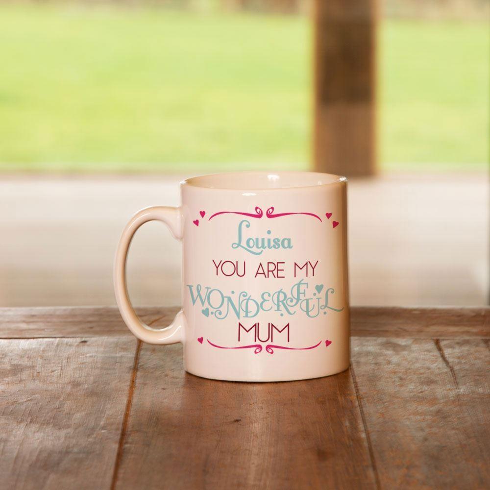 Mum Mummy Wonderful Mug