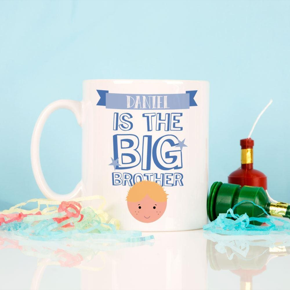 The Big Brother Personalised Mug