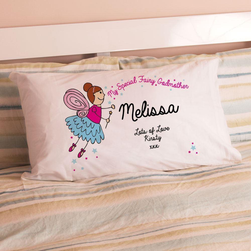 Personalised Godmother Pillowcase