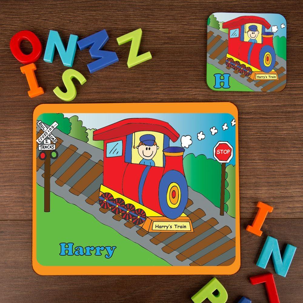 Train Placemat Set