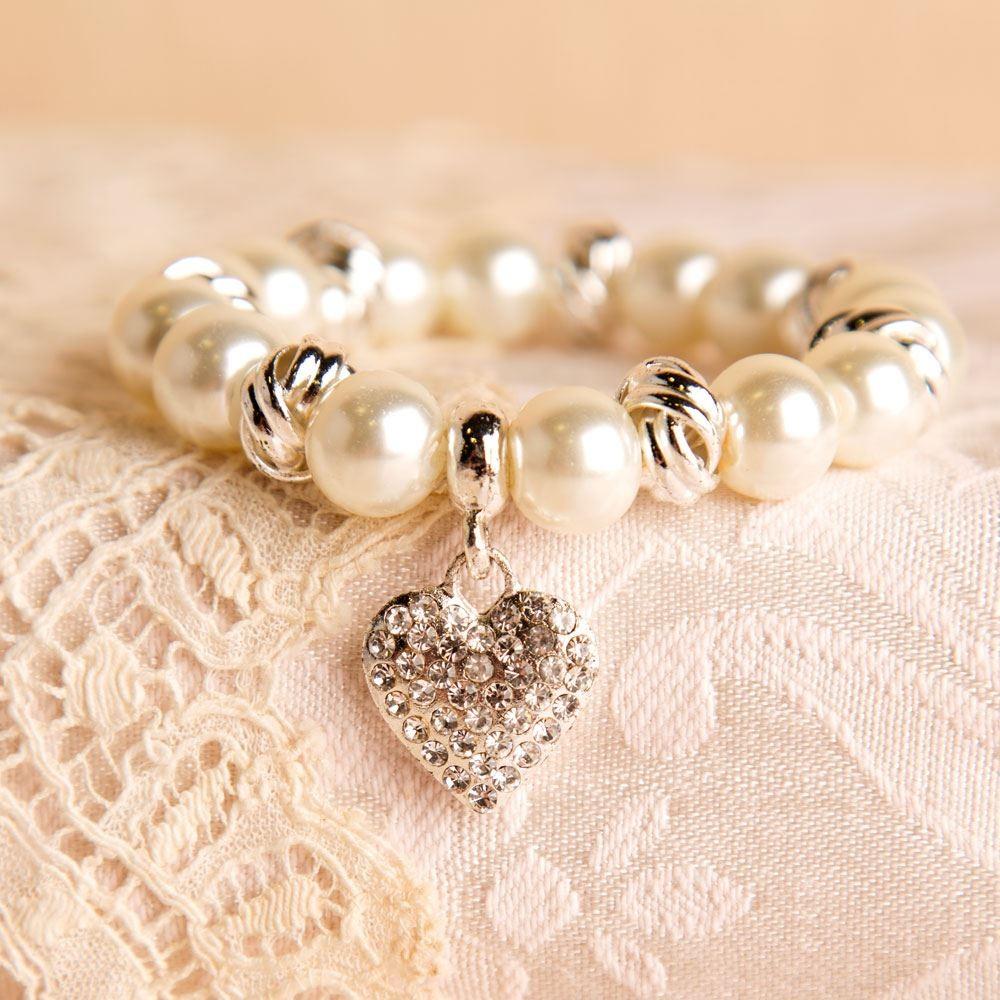 Presentation Boxed Pearl Bracelet