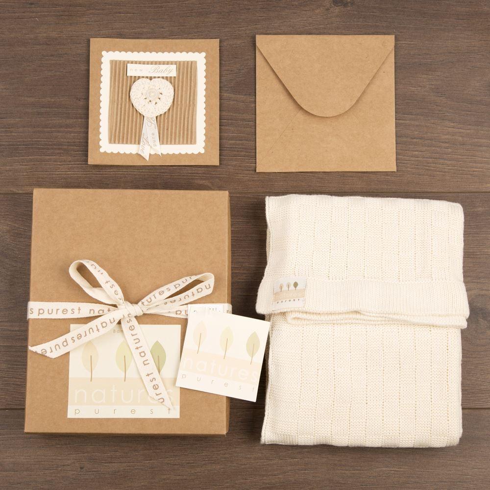 Blanket & Greeting Card Set