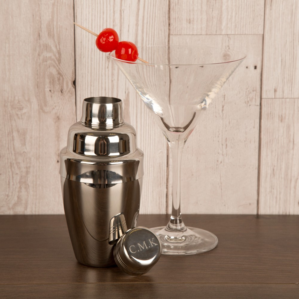 Personalised Miniature Party Cocktail Shaker for Him or Her