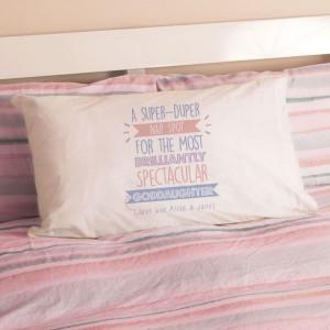 Personalised Best Goddaughter...Just Ask Pillowcase
