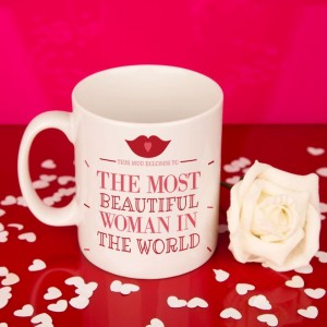 The Most Beautiful Woman In The World Mug