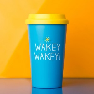 Wakey Wakey Travel Mug