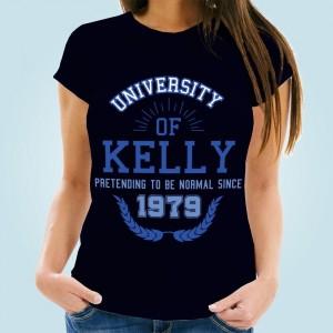 Ladies Pretending To Be Normal Custom Navy T-Shirt