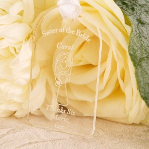 Sister Of The Bride Gift Tag