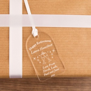 Retirement Gift Tag