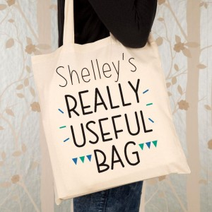 Personalised Really Useful Shopper Bag