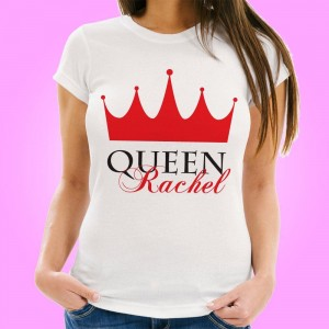 Personalised Queen Womens T-Shirt