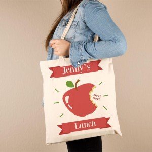 Customised Lunch Tote Bag