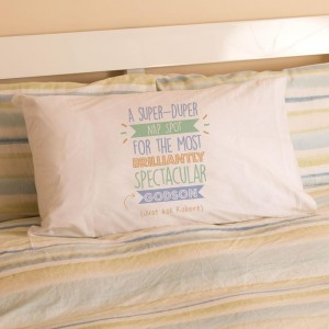 Personalised Best Godson...Just Ask Pillowcase