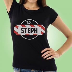 Thank God Its...Personalised Womens T-Shirt
