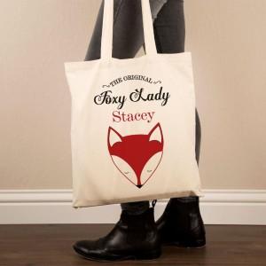 Custom Foxy Lady Shoulder Bag