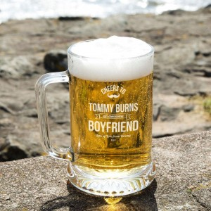 Customised Awesome Boyfriend Pint Tankard: Special Offer