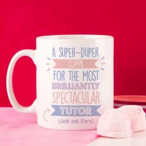 Personalised Best Tutor (Female)... Just Ask Mug