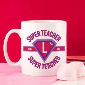Teachers Customised Super Hero Mug