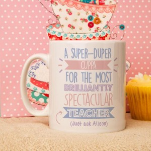 Personalised Best Teacher (Female)...Just Ask Mug