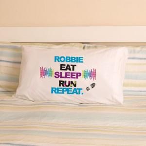 Personalised Runner Pillowcase