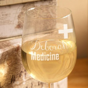 Novelty Medicine Wine Glass