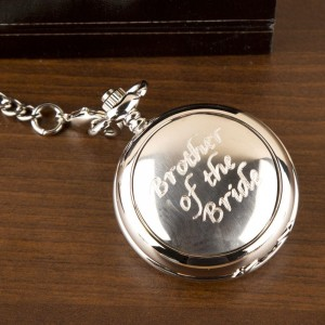 Brother Of The Bride Pocket Watch